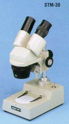 Zenith STM-30 x10/x30 Illuminated Stereoscopic Microscope