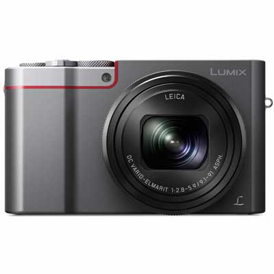Panasonic LUMIX DMC-TZ100 Digital Camera - Silver