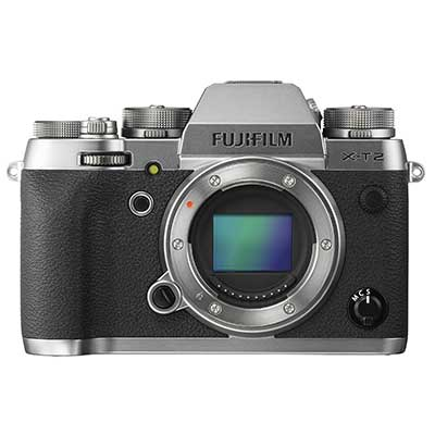 FujiFilm X-T2 Digital Camera Body - Graphite Silver