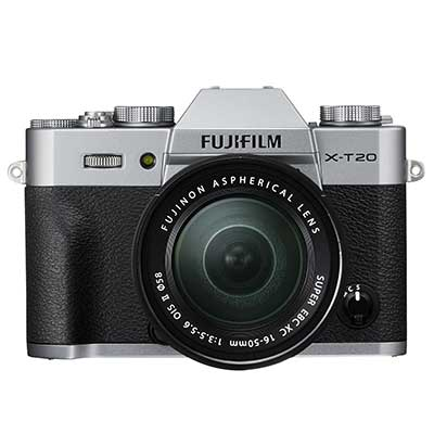 FujiFilm X-T20 Body with XC 15-45mm Lens - Silver