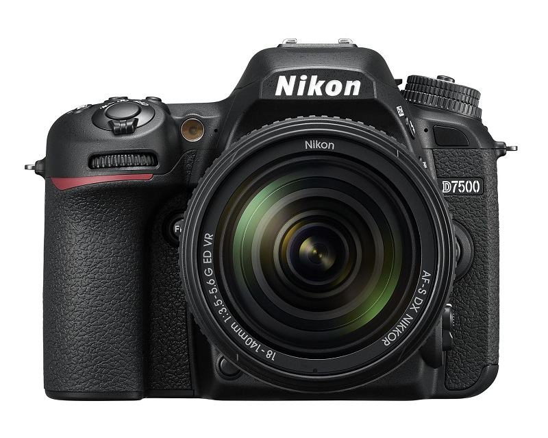 Nikon D7500 Digital SLR with 18-140mm 3.5-5.6 G ED VR Kit