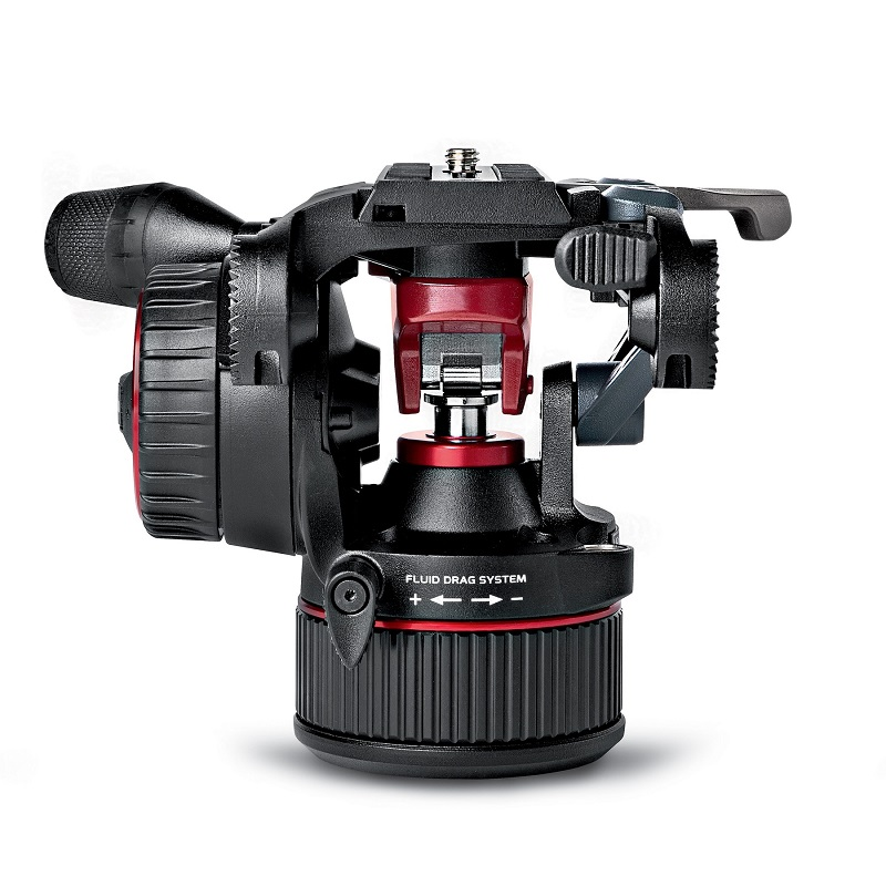 Manfrotto Nitrotech N8 Fluid Video Head With Continuous CBS