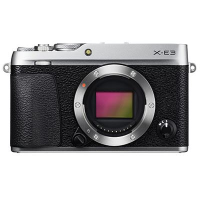 Fujifilm X-E3 Digital Camera Body - Silver - New Release
