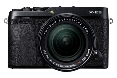 Fujifilm X-E3 Digital Camera with 18-55mm Lens - Black - New Release