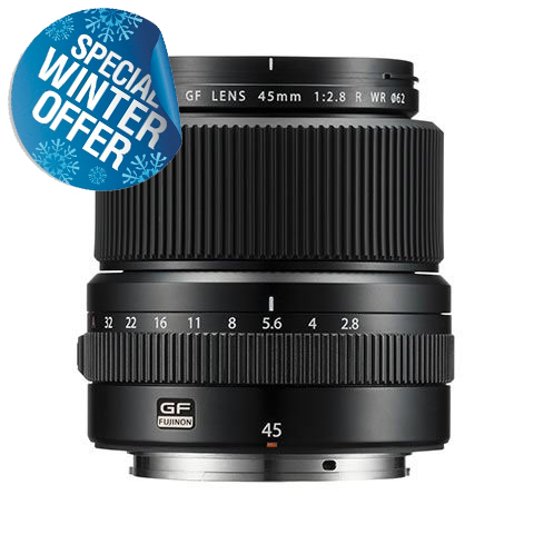 Fujifilm GF 45mm f2.8 R WR Lens for GFX 50S