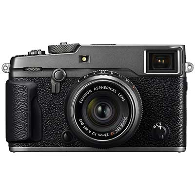 Fujifilm X-Pro2 Body with XF23mm F2 Lens - Graphite Silver with Special Grey Leather Strap