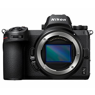 Nikon Z6 Digital Camera with FTZ Mount Adapter