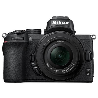 Nikon Z 50 Digital Camera with 16-50mm Lens and FTZ Adapter
